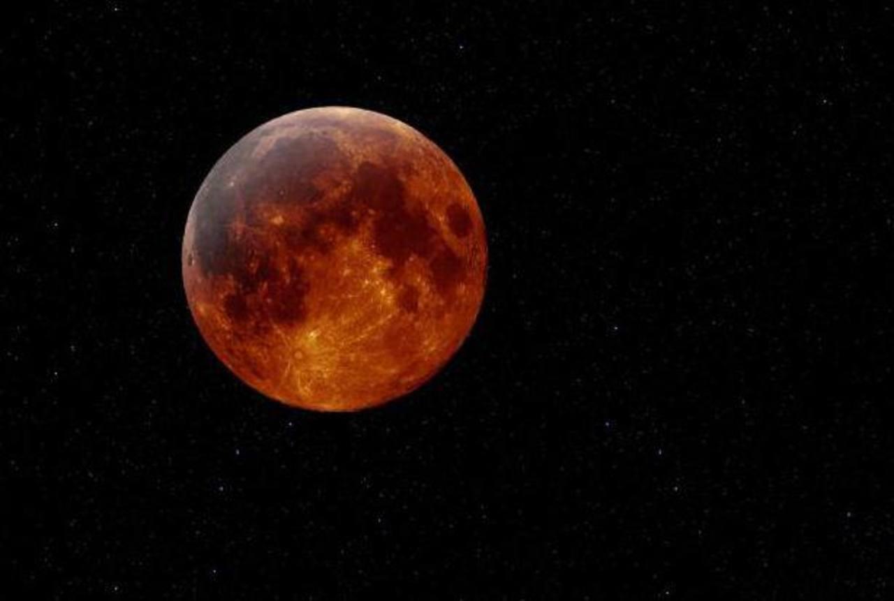 Eclipse parcial de Luna será visible en El Salvador la madrugada del 4 de abril