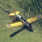 Harrison Ford herido de gravedad tras accidente de avión