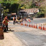 Los conductores y residentes en la zona esperan que los tramos reparados duren mucho tiempo. Foto edh / Insy Mendoza