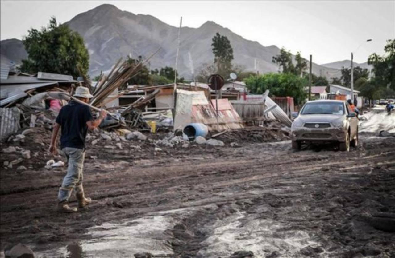 Inundaciones en Chile dejan 25 muertos y 101 desaparecidos