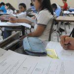 El programa Jóvenes Talentos Matemáticos atiende alumnos de escuelas y colegios que tienen habilidades para Matemática y Ciencias. FOTO EDH /ARCHIVO