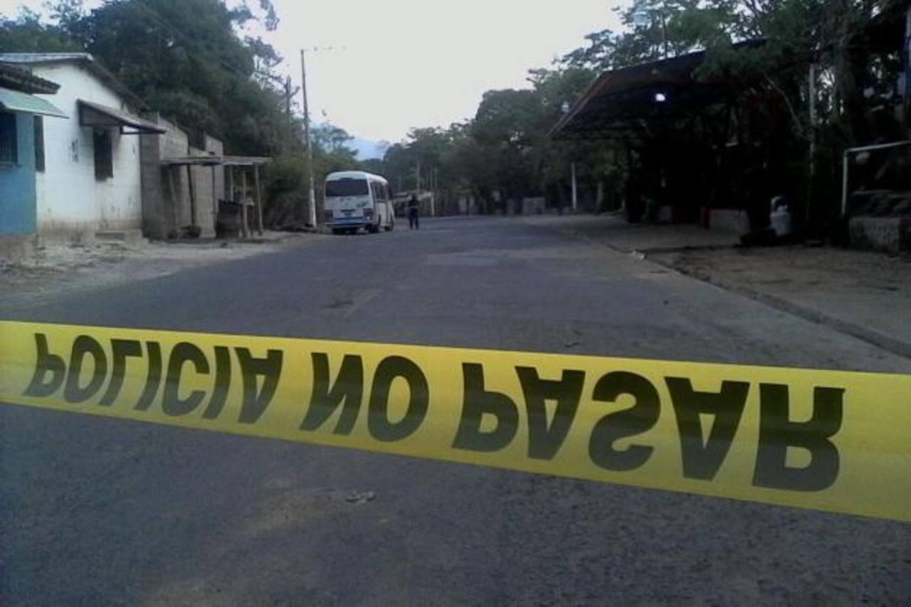 Motorista ruta - 17 fue asesinado en Rosario de Mora. /