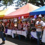 Los asistentes disfrutaron de platillos típicos regionales y además una variedad de artesanías.