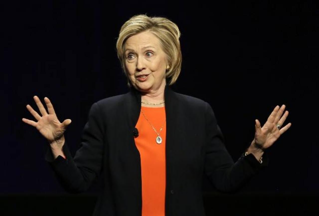 La exsecretaria de Estado de Estados Unidos, Hillary Clinton. foto edh / latimes.com