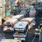 Estudio revela que el transporte colectivo en el país es caótico