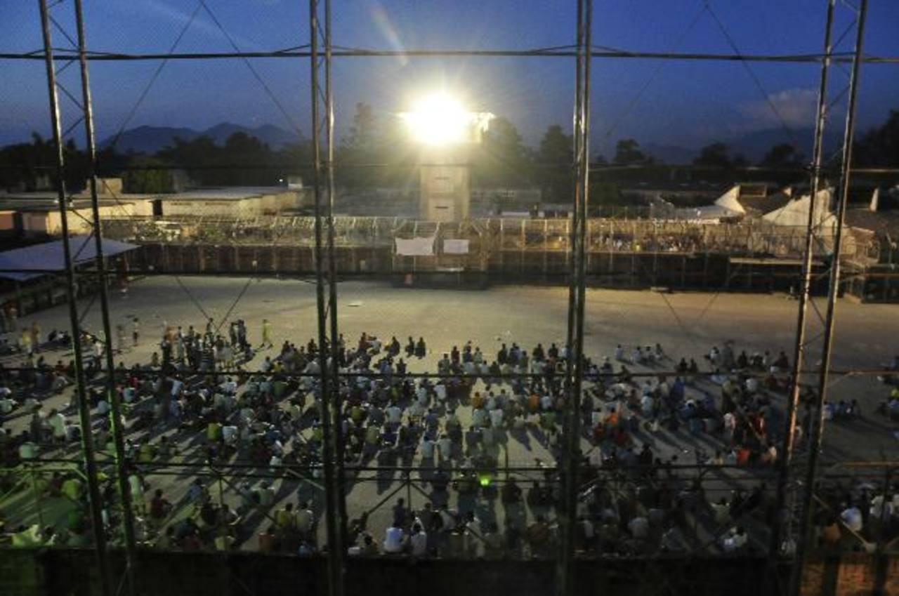 Cárceles salvadoreñas con casi 30 mil prisioneros