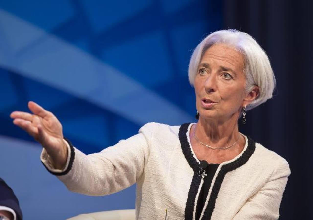 Directora gerente del FMI, Christine Lagarde.Foto EDH/EFE