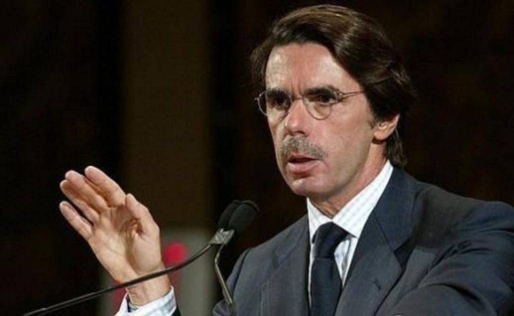 El expresidente del Gobierno José María Aznar. foto edh