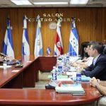 Los diputados entrevistaron al director de la Academia Nacional de Seguridad Pública, Jaime Martínez, quien aspira a ser magistrado a la CSJ.