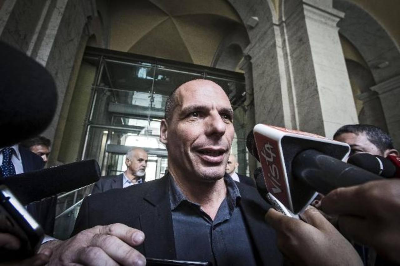 El ministro griego de Finanzas, Yanis Varufakis,