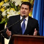 Juan Orlando Hernández, gobernante hondureño, estará reunido ahora con Park Geun-hye, presidenta de Corea del Sur