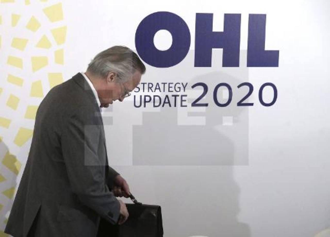 El CEO de OHL, Josep Pique, cuya empresa ha sido fuertemente señalada en México por supuestas maniobras fraudulentas.