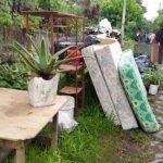 Habitantes de comunidad El Espino inician desalojo