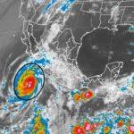 El huracán Blanca alcanza de nuevo la categoría 4 en aguas del Pacífico
