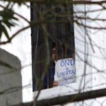 Daniel Ceballos en una imagen de archivo en la cárcel militar de Ramo Verde de donde fue trasladado. foto edh /Internet