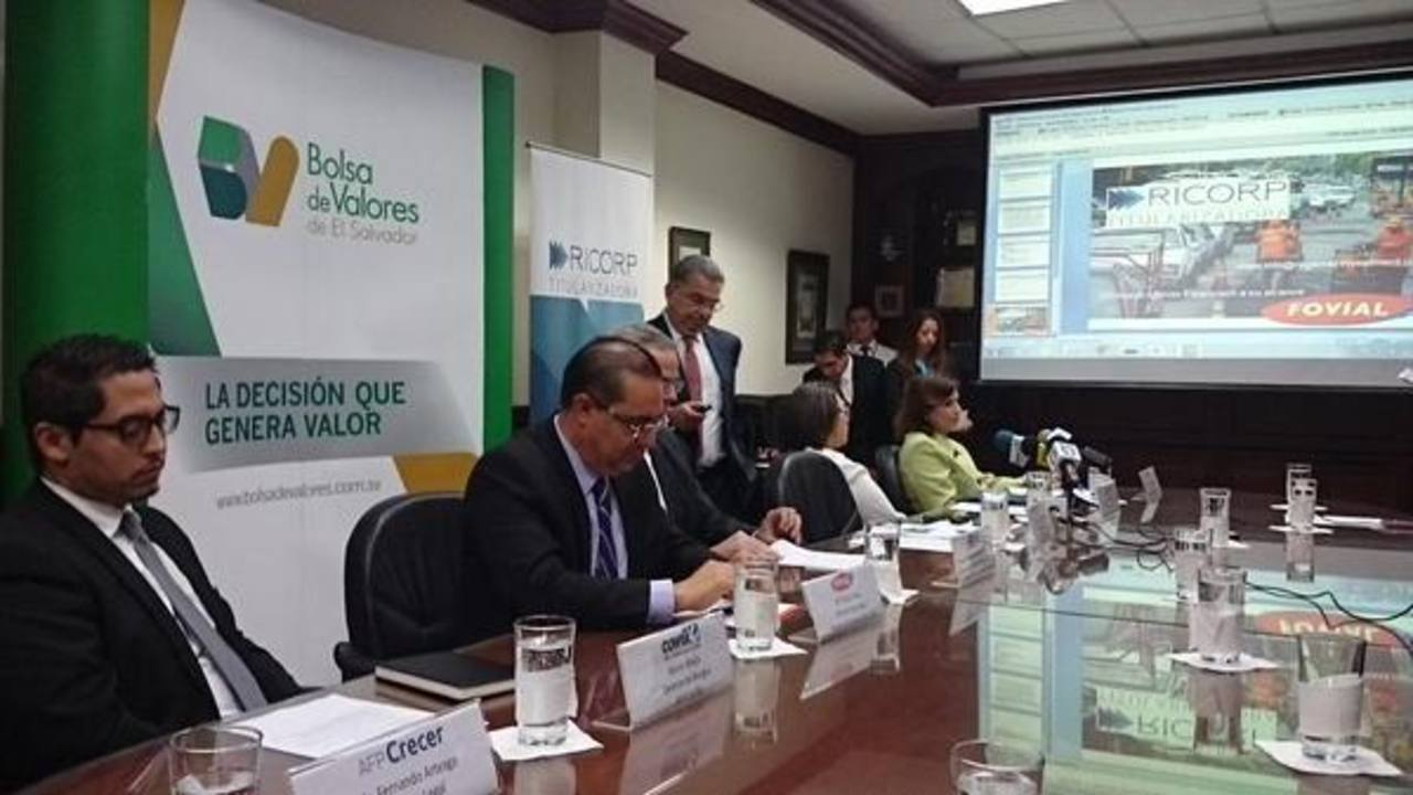 Fovial emite títulos valores por $25 millones