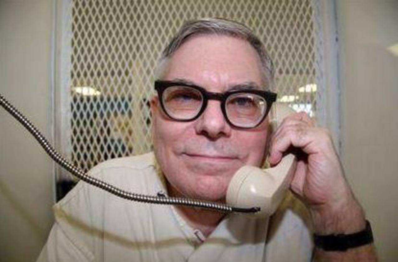 Lester Bower, quien está condenado a la pena de muerte, durante una entrevista en el Departamento de Justicia Criminal de Texas, el 20 de mayo de 2015.