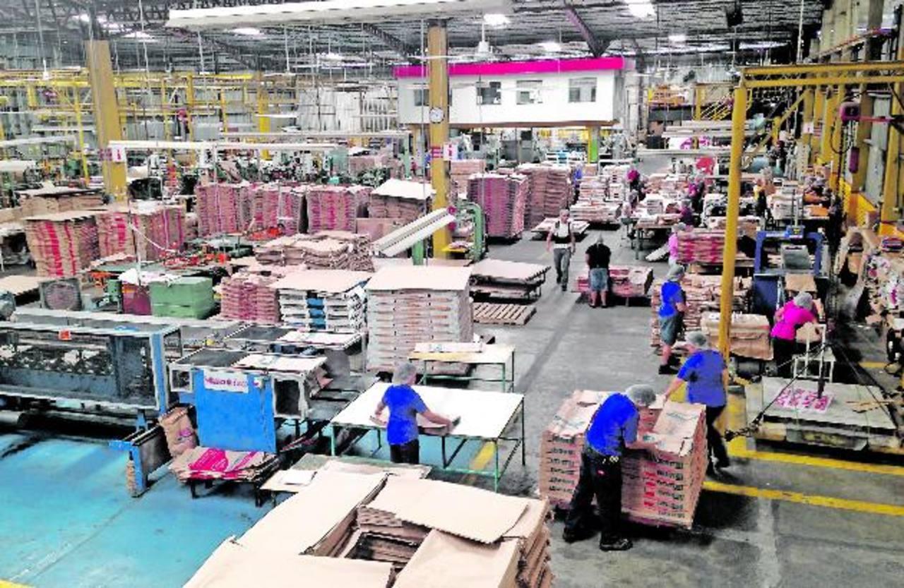 Bemisal fabrica 150 millones de sacos anuales, 150,000 pliegos diarios de papel para venta de hamburguesas y 5,000 toneladas métricas anuales para fabricar bolsas. foto cortesía