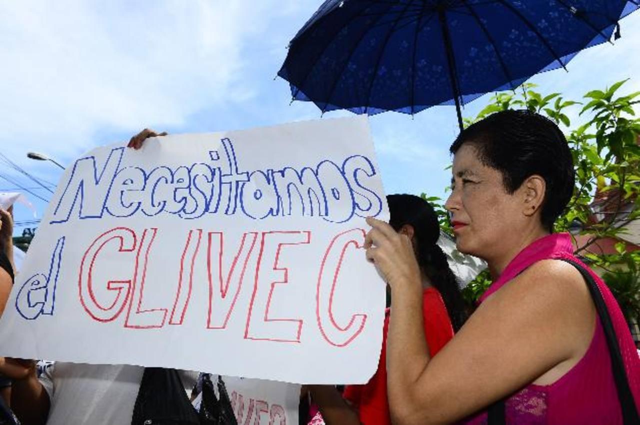 Sin esta medicina, la leucemia puede convertirse en aguda. Foto EDH / René Estrada