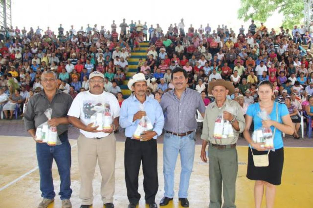 Los beneficiados agradecieron el apoyo recibido.