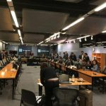 Esta es la sala de audiencias del Centro Internacional de Arreglo de Diferencias Relativas a Inversiones (Ciadi), con sede en el Banco Mundial en Washington, donde se ventila el conflicto entre la firma italiana Enel y El Salvador. foto edh / cortesí
