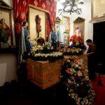 Sus restos fueron velados en la capilla que está dentro de su casa, la cual diseñó él mismo. foto edh / marlon hernandez