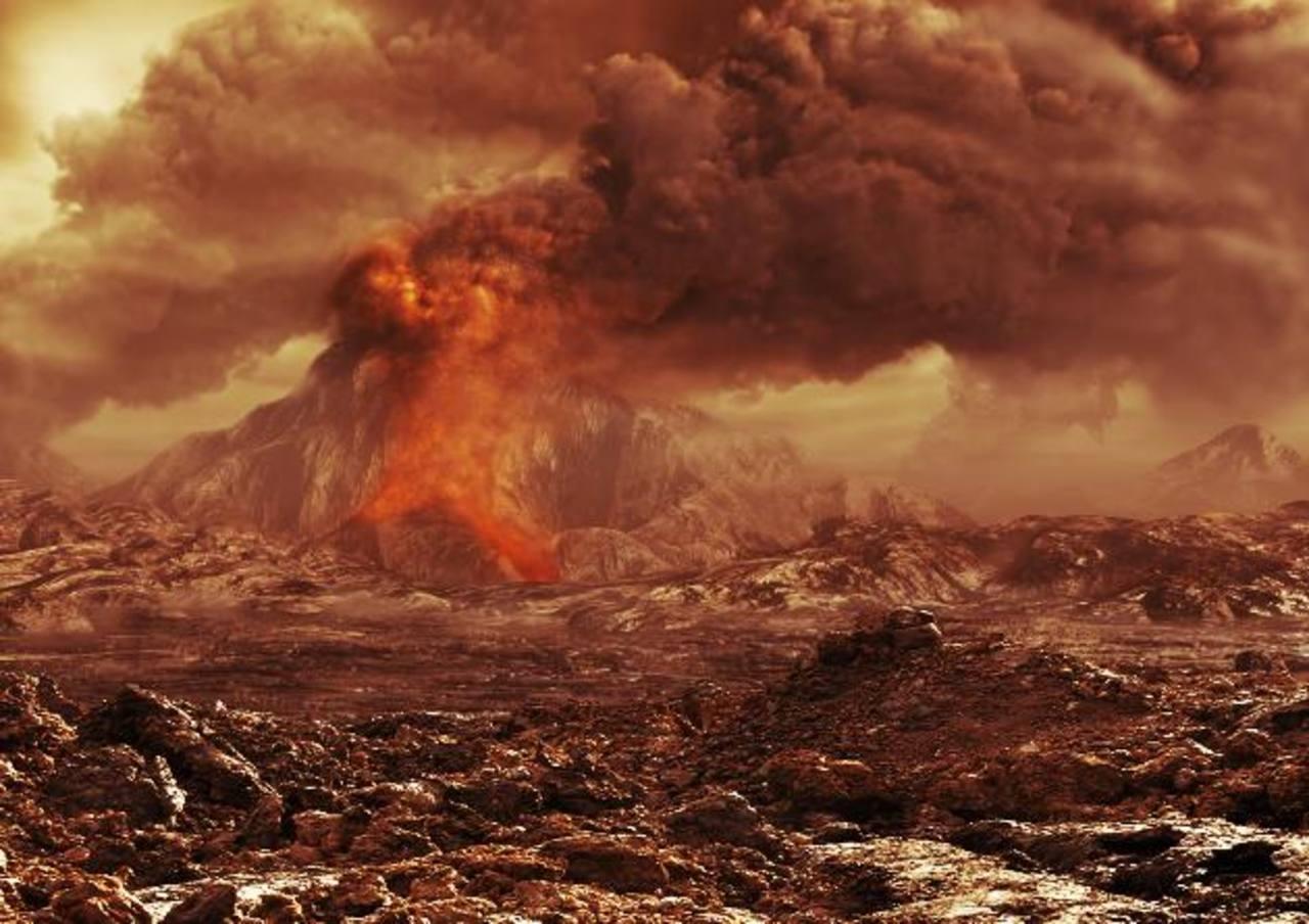 Los radares de misiones han revelado que Venus está cubierto de volcanes y antiguas lenguas de lava. Foto EDH