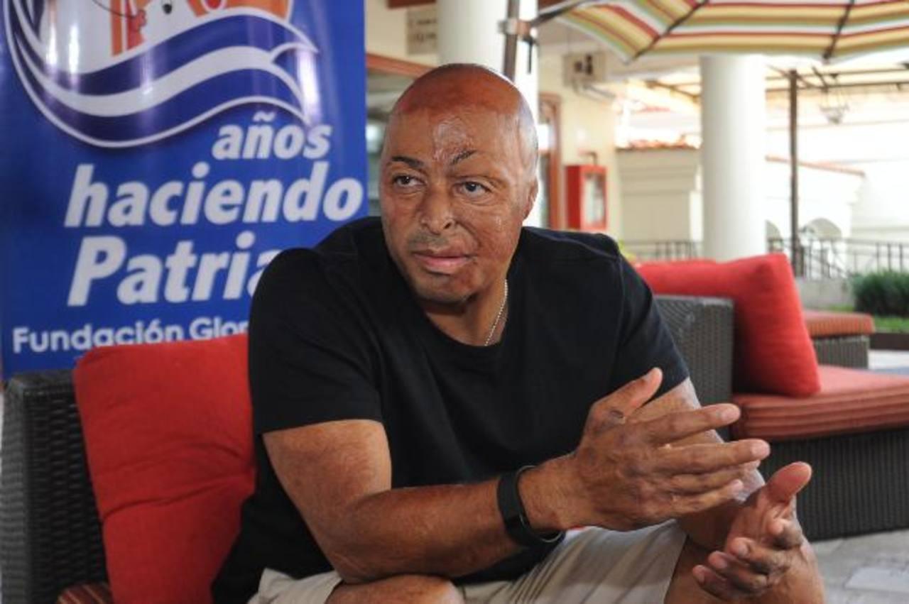 J.R. Martínez viene como invitado para realizar una conferencia durante la Expo FGK. Foto EDH/ Lissette Monterrosa