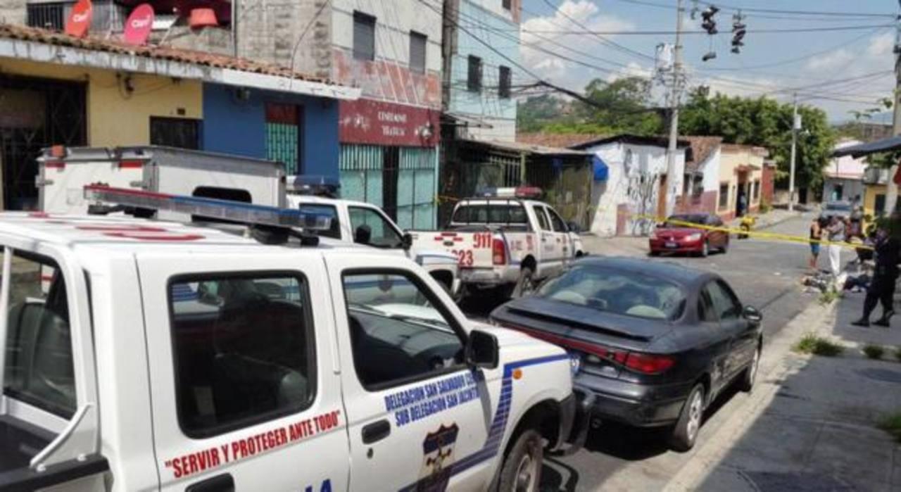 Un hombre fue asesinado en el barrio San Jacinto, San Salvador.