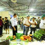La Feria Agroindustrial ofreció charlas especializadas, así como también tuvo la presencia de 21 empresas agrícolas, avícola y cárnica. foto edh / Omar Carbonero