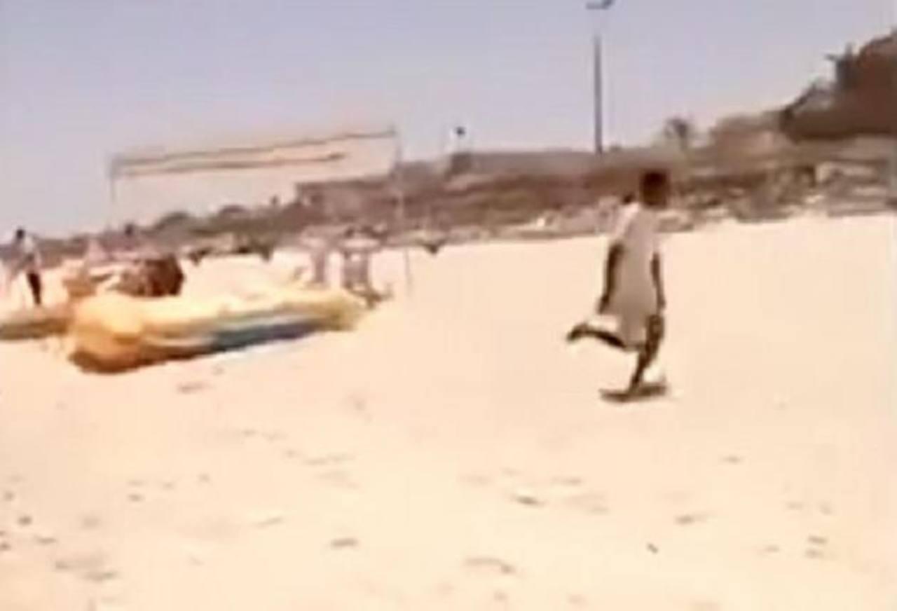 VIDEO: Revelan impactantes imágenes de atentados en hotel de Túnez