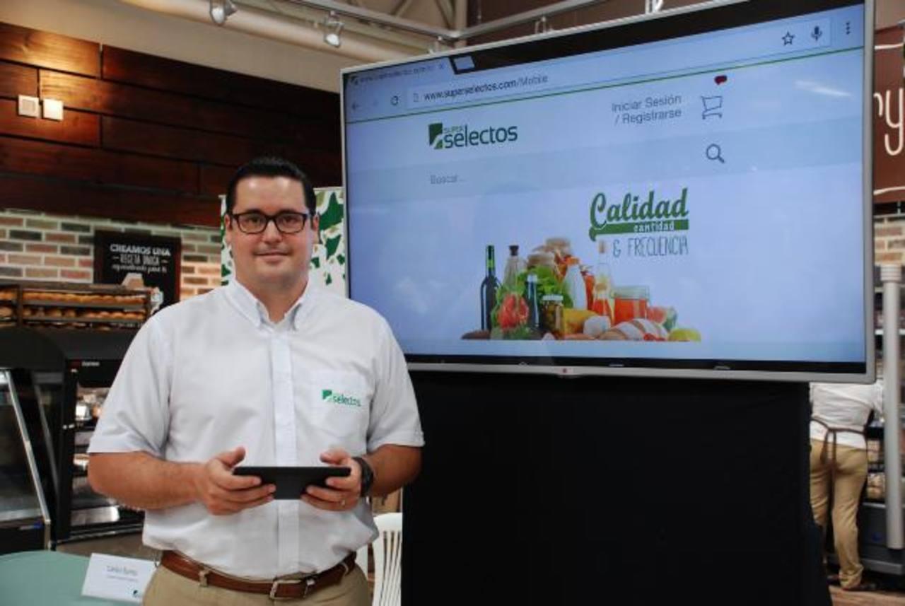 Carlos Baires, gerente de nuevos negocios de Súper Selectos. foto edh / Cortesía