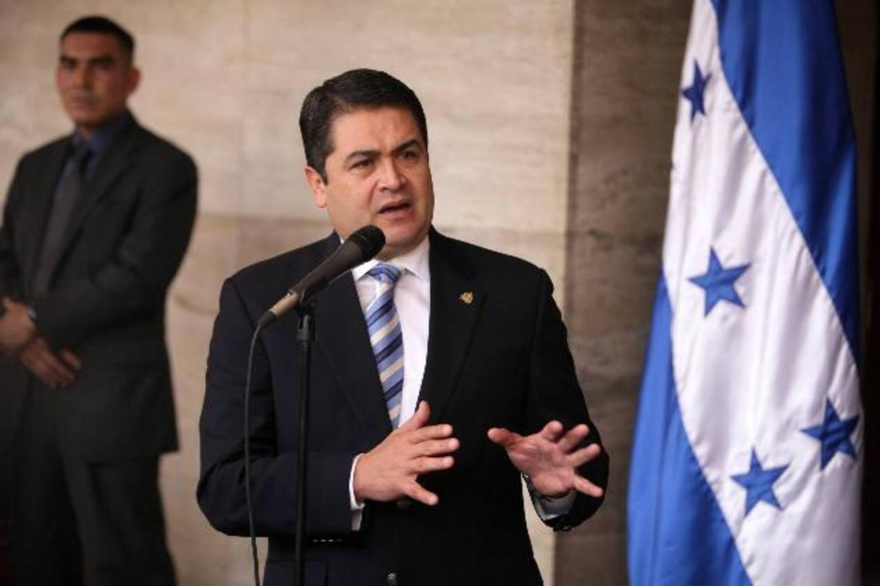 Presidente de Honduras admite financiación fraudulenta