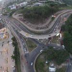En la zona del redondel Naciones Unidas circula un promedio de 45 mil vehículos. Durante 10 meses el tráfico será restringido. Foto EDH / marvin rodríguez