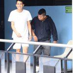 Los dos acusados de asesinar al hijo del cómico Aniceto Porsisoca tendrán hoy la audiencia inicial. Foto EDH / René estrada