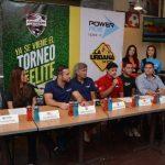 Representantes de Adoc, con su marca Bracos Pro, y patrocinadores del torneo estuvieron presentes durante el lanzamiento. FOTO EDH /David Rezzio.