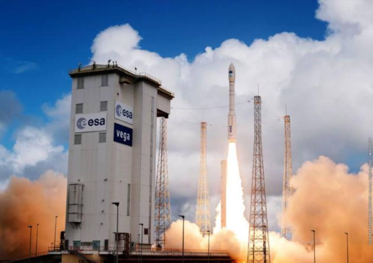 De momento, la prioridad para la división espacial de Airbus es la entrada en servicio del cohete Ariane-6. Foto EDH