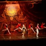 La noche de ayer se presentó el primer espectáculo de la compañía rusa, en el Teatro Presidente. Hoy, se ofrecerá el segundo. Fotos EDH / Marlon Hernández