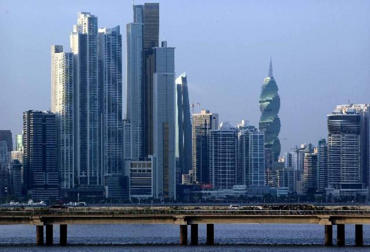 Panorámica de Ciudad de Panamá. El 65% de la Inversión Extranjera Directa (IED) durante el primer trimestre en Panamá lo constituyeron utilidades reinvertidas.