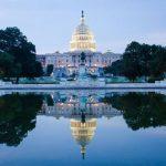 El Congreso de Estados Unidos, uno de los tantos lugares a visitar en Washington DC.
