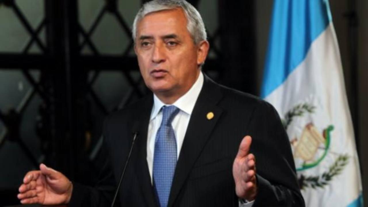 Congreso elige hoy comisión para investigar al presidente Pérez Molina