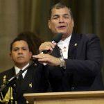 El presidente Correa ha generado malestar en diversos sectores con su proyectos de ley para redistribuir la riqueza. Foto Expansión/EFE.