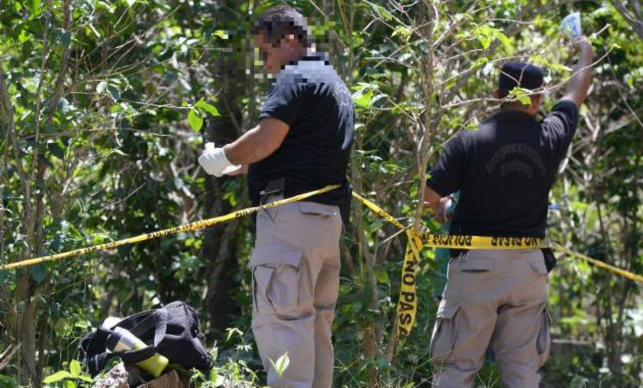 Muere pandillero al enfrentarse con policías en Cuscatlán