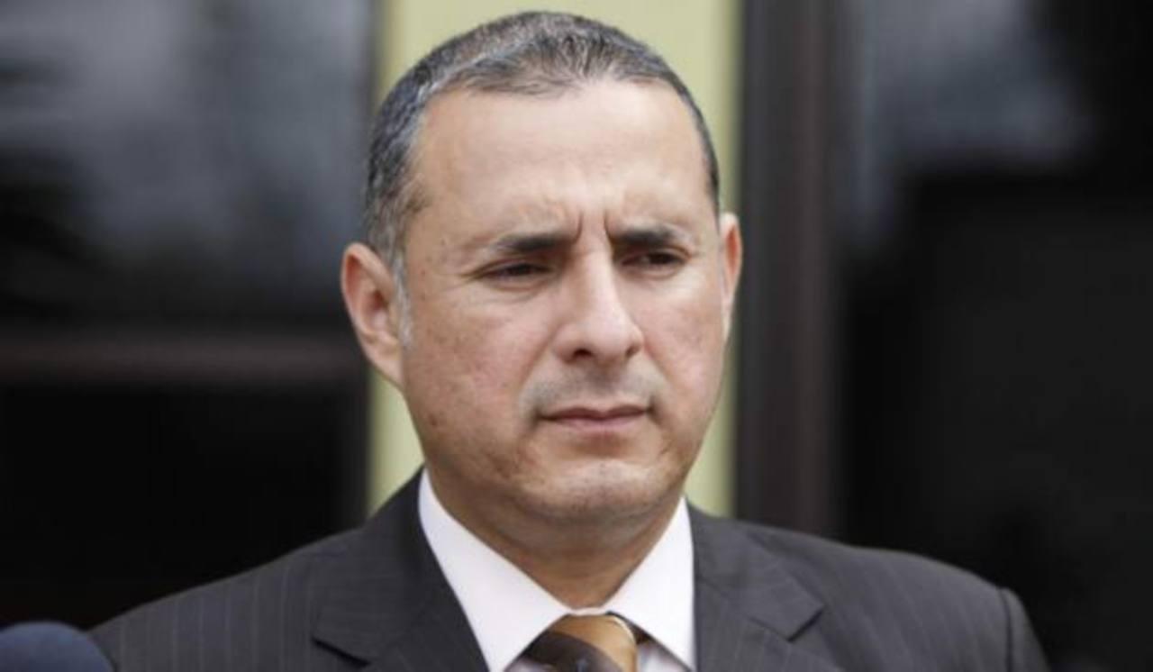 Rigoberto Cuéllar, fiscal general adjunto de Honduras, niega los señalamientos. Foto tomada de La Prensa de Honduras