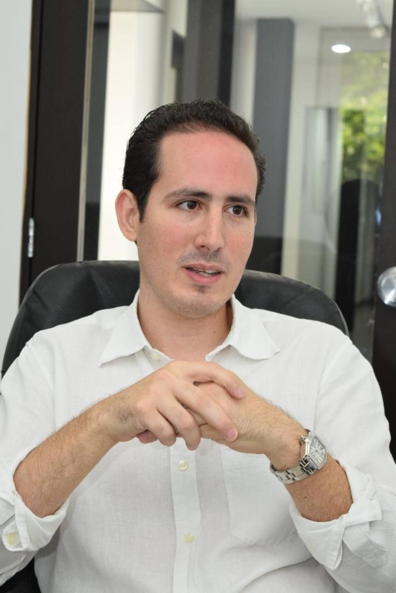 Alfredo Atanacio, fundador de UASSIST.ME y centro de negocios Point. FOTO EDH / Cortesía