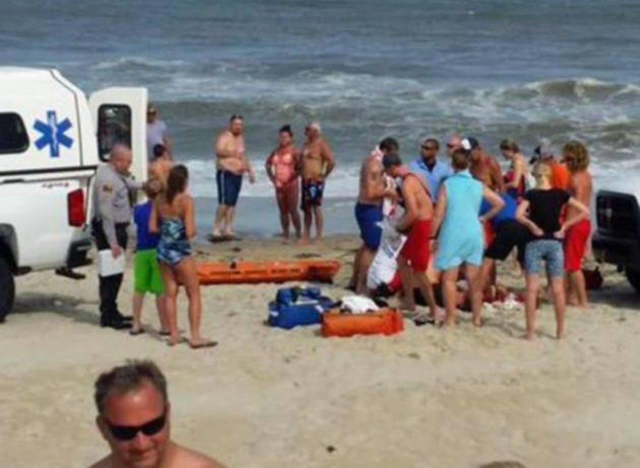 Registran el sexto ataque de tiburón en las últimas dos semanas en Carolina del Norte