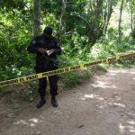 Dos jóvenes fueron asesinados este martes en el cantón Casa de Piedra, en Panchimalco.