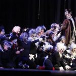 """Cats, uno de los cinco musicales presentados durante el espectáculo de """"Broadway Forever"""". FOTO EDH / ARCHIVO"""