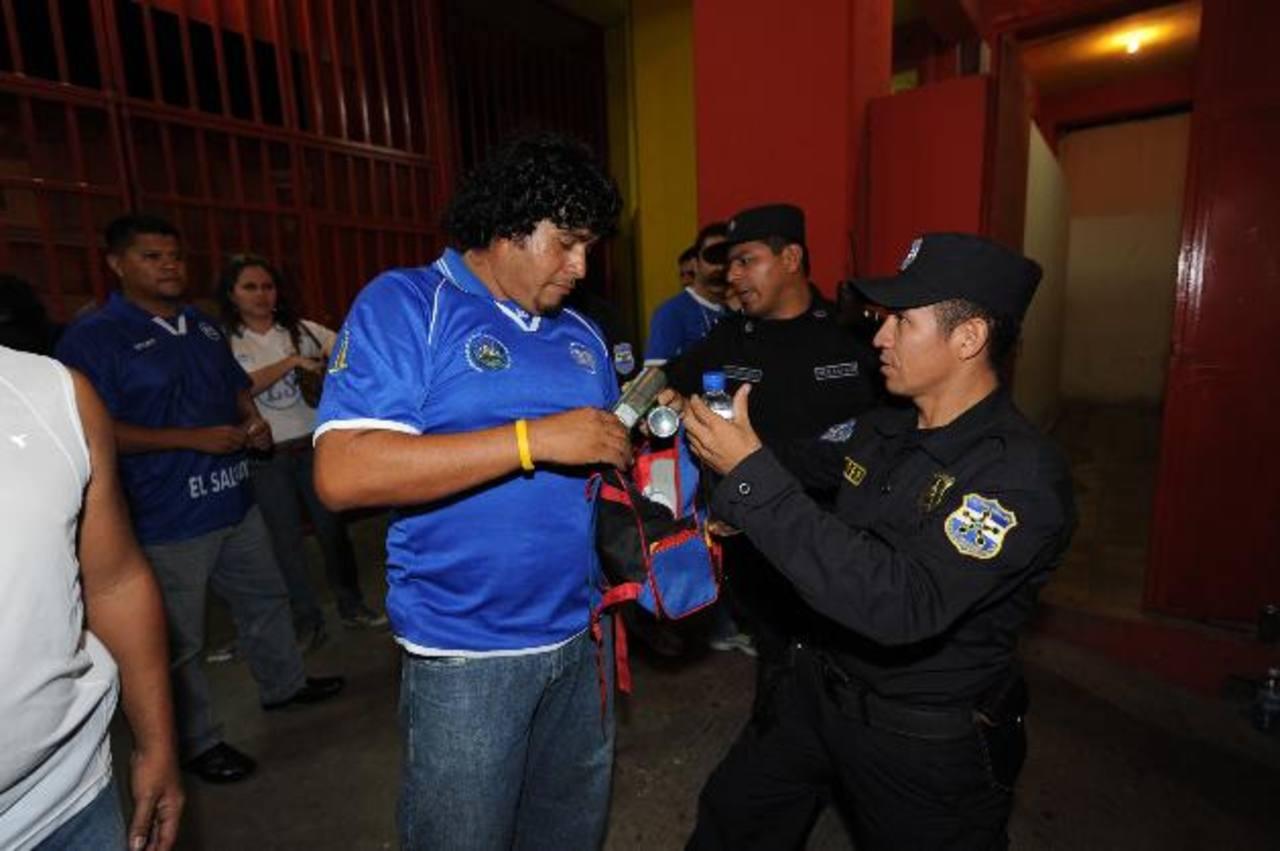 Habrá mucha seguridad al público en el Cusca. foto edh/Archivo