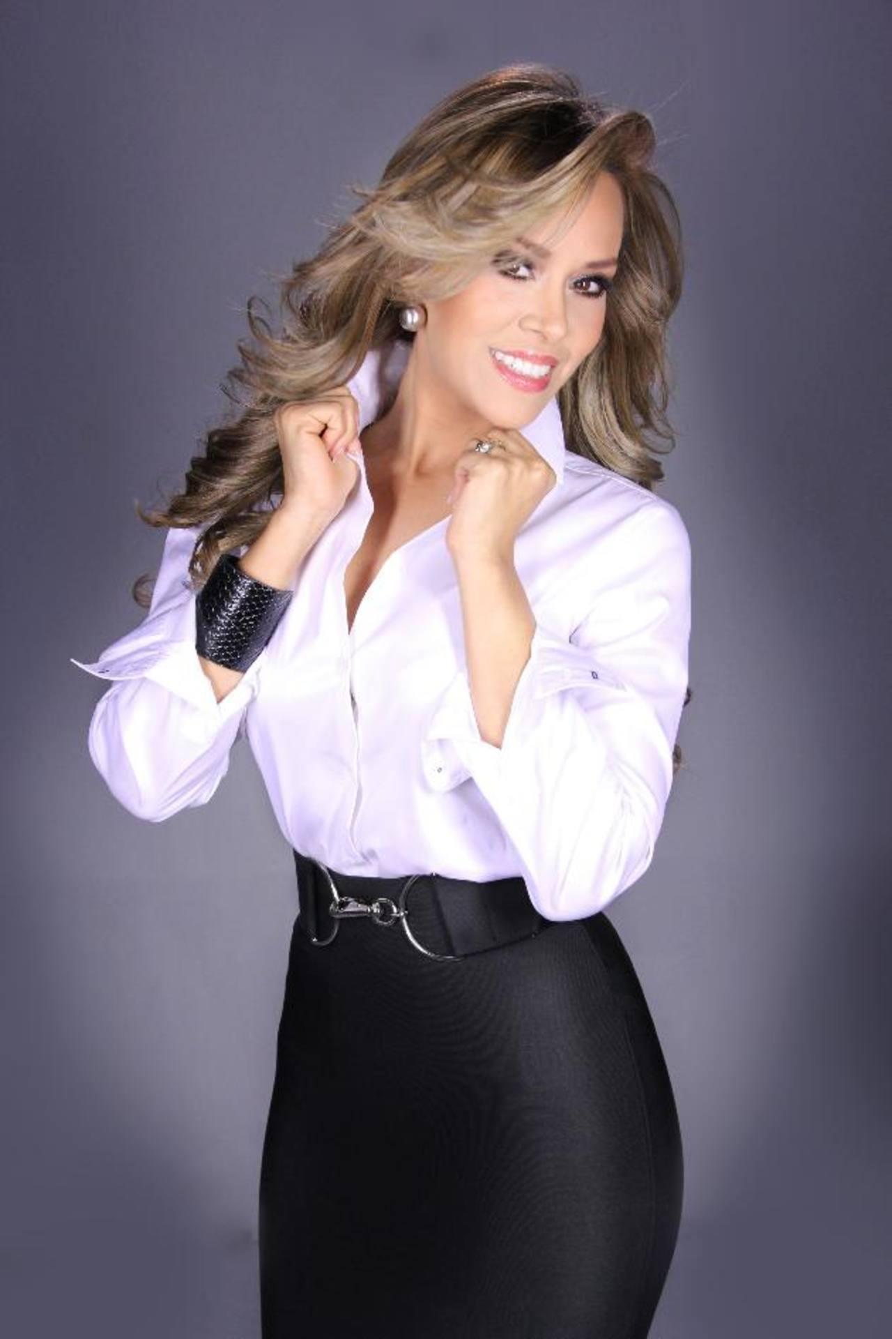 La carismática presentadora espera con ansias el comienzo del nuevo concurso de baile. fotos facebook MQB